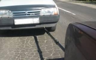 Жесткая сцепка для легковых автомобилей своими руками. учимся ее делать согласно пдд