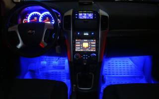 Делаем подсветку салона автомобиля своими руками — пособие для любого авто