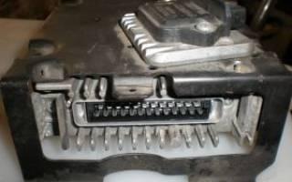 Замена блока управления двигателем своими силами — как самостоятельно поменять в автомобиле