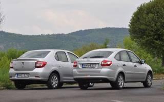 Что выбрать, Renault Logan или Ладу Гранта — тест-драйв, мнение экспертов и характеристики