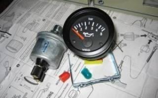 Как подключить датчик давления масла? разбор вопроса и другие моменты