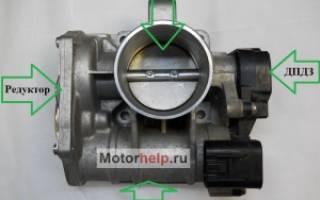 Чистка дроссельной заслонки на Приоре — 16 и 8 клапанов, электронный е-Газ и обычная система