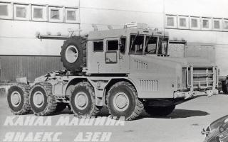 Как арабские военные пересели на танковозы МЗКТ