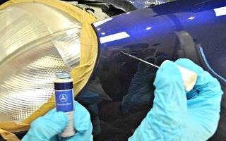 Удаление сколов на автомобиле своими силами — как убрать, ремонт кузова